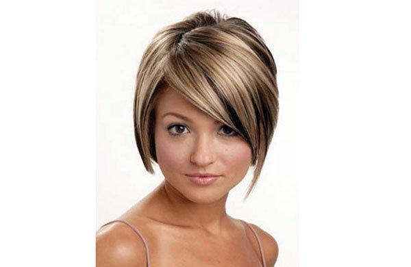 Potongan Rambut Pendek Untuk Wajah Bulat Foto