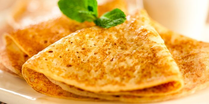 Pancake Pada Yogurt Resipi Dengan Gambar Langkah Demi