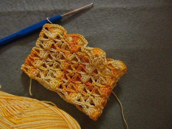 Summer safofin hannu crocheted, shaci  Umurnai don ƙulla